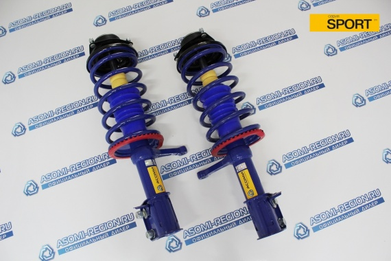 Узлы в сборе передней подвески Asomi SPORT -30мм  2 для ВАЗ 2108-99, 13-15