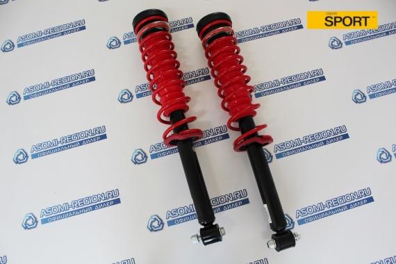 Узлы в сборе задней подвески Asomi Kit Sport -50мм для Лада Приора