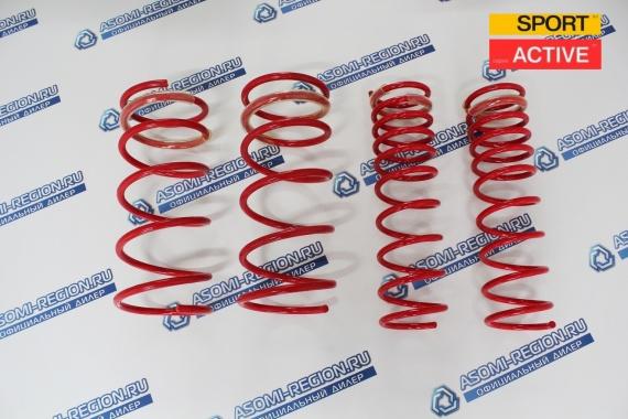 Комплект пружин Mr.Amorti Sport Active -30мм п/ш для ВАЗ 2108-99, 13-15