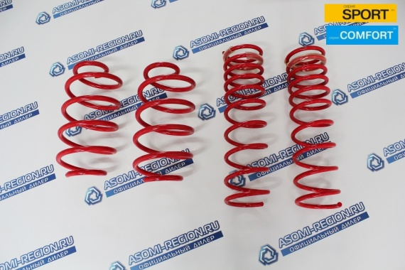 Комплект пружин Mr.Amorti Sport Comfort -50мм п/ш для Лада Kalina 2 Sport