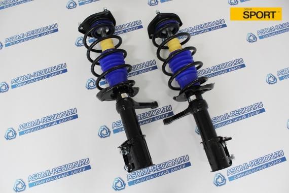 Узлы в сборе передней подвески Asomi Kit Sport -30мм для ЛАДА Калина 1