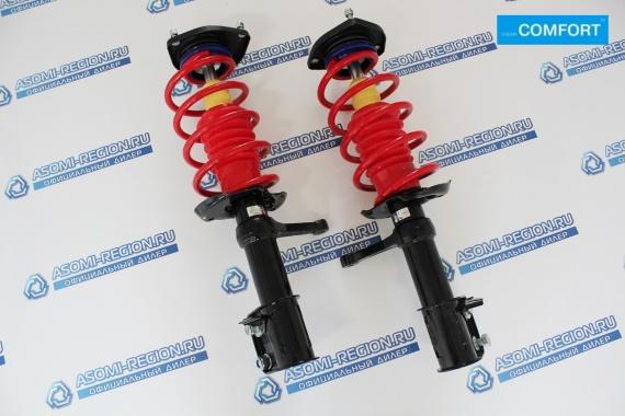 Узлы в сборе передней подвески Asomi Kit Comfort -30мм для ЛАДА Kalina Sport