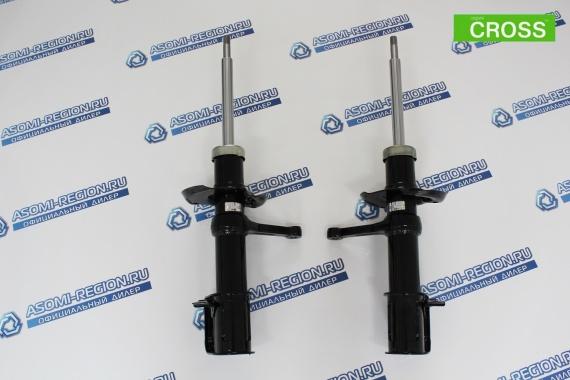 Стойки передней подвески АСОМИ Kit CROSS +15мм для ЛАДА Kalina 2