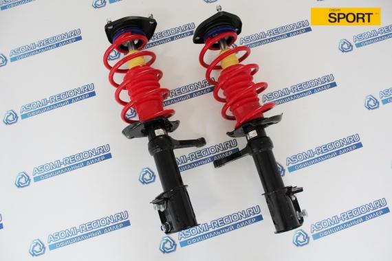 Узлы в сборе передней подвески Asomi Kit Sport -70мм для ЛАДА Приора