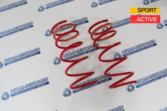 Пружины передней подвески Mr.Amorti Sport Activ -70мм п/ш для ВАЗ 2108-99, 13-15