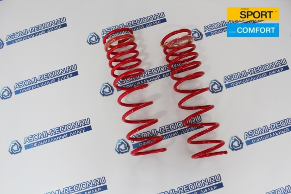 Пружины задней подвески Mr.Amorti Sport Comfort -30мм п/ш для Лада Калина 2