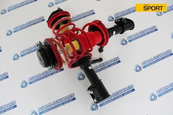 Узлы в сборе передней подвески Asomi Kit Sport -30мм для ВАЗ 2110-12