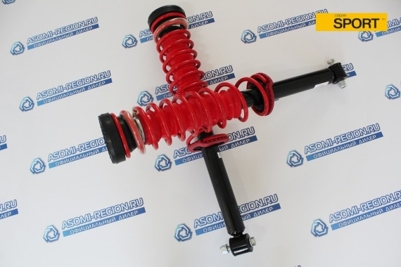 Узлы в сборе задней подвески Asomi Kit Sport -30мм для ВАЗ 2110-12