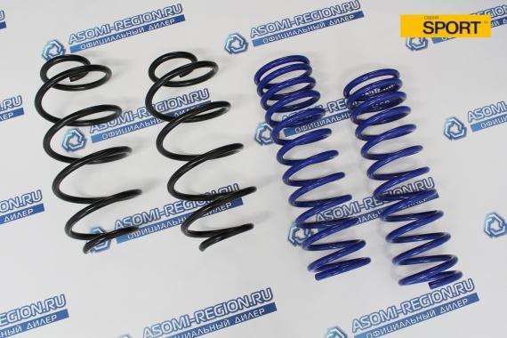 Комплект пружин Asomi Sport -30мм (для амортизаторов с арт. 77) для Лада Granta Sport