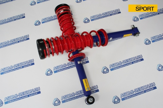 Узлы в сборе задней подвески Asomi Sport -30мм 1 для ВАЗ 2110-12
