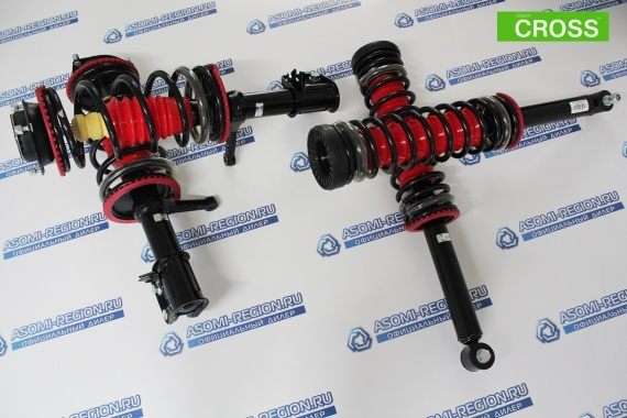 Узлы в сборе Asomi Kit Cross +15мм 2 для ВАЗ 2110-12