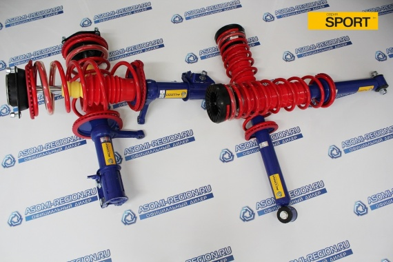 Узлы в сборе Asomi Sport -30мм 1 для ВАЗ 2110-12