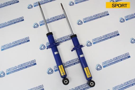Амортизаторы задней подвески АСОМИ SPORT -30мм (с занижением) для ВАЗ 2108-99, 2113-15