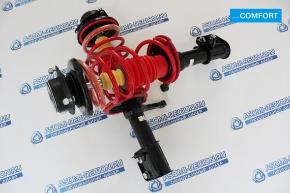 Узлы в сборе передней подвески Asomi Kit Comfort -30мм для ВАЗ 2108-99, 13-15