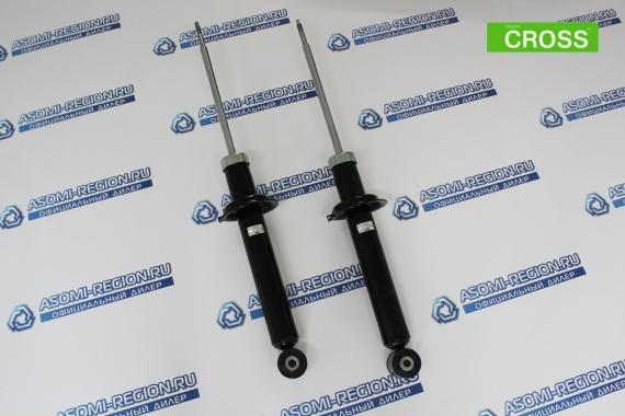 Амортизаторы задней подвески Asomi Kit Cross + 15мм для ЛАДА Калина 2 Кросс