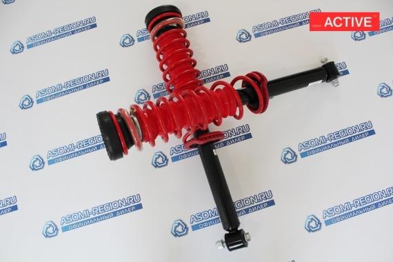 Узлы в сборе задней подвески Asomi Kit Active -30мм для Лада Kalina 1 Sport