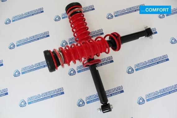 Узлы в сборе задней подвески Asomi Kit Comfort -30мм для ВАЗ 2108-99, 13-15