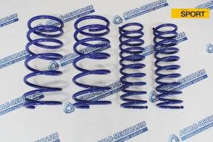 Комплект пружин Asomi Sport -30мм для ВАЗ 2108-99, 13-15